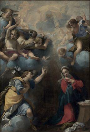 Carlo Bononi, Annunciazione, 1611. Gualtieri, Santa Maria della Neve