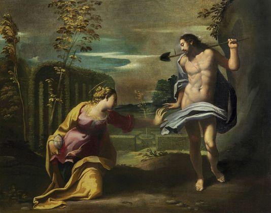 Carlo Bononi, Noli me tangere, 1608-14 ca. Collezione privata