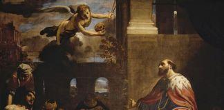 Carlo Bononi, San Ludovico scongiura la peste, 1632. Vienna, Kunsthistorisches Museum, Gemäldegalerie