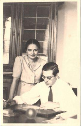 Carlo Ludovico e Licia Ragghianti