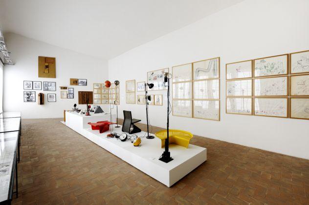 Cesare Leonardi. L'Architettura della Vita. Exhibition view at Palazzina dei Giardini, Modena 2017. Photo Paolo Terzi