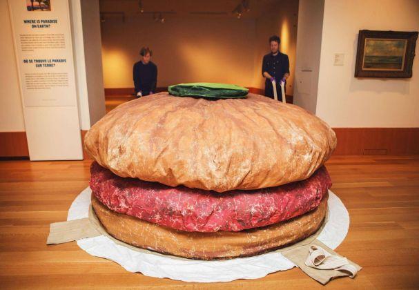 Claes Oldenburg, Floor Burger, 1962. Art Gallery of Ontario, Toronto