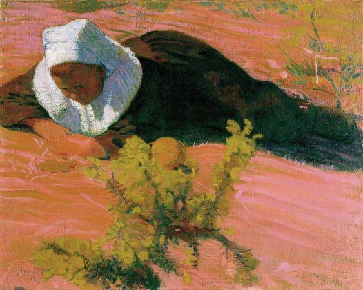 Cune Amiet, Ragazza bretone, 1893. Kunsthaus Zürich. (c) M.+D. Thalmann, Herzogenbuchsee