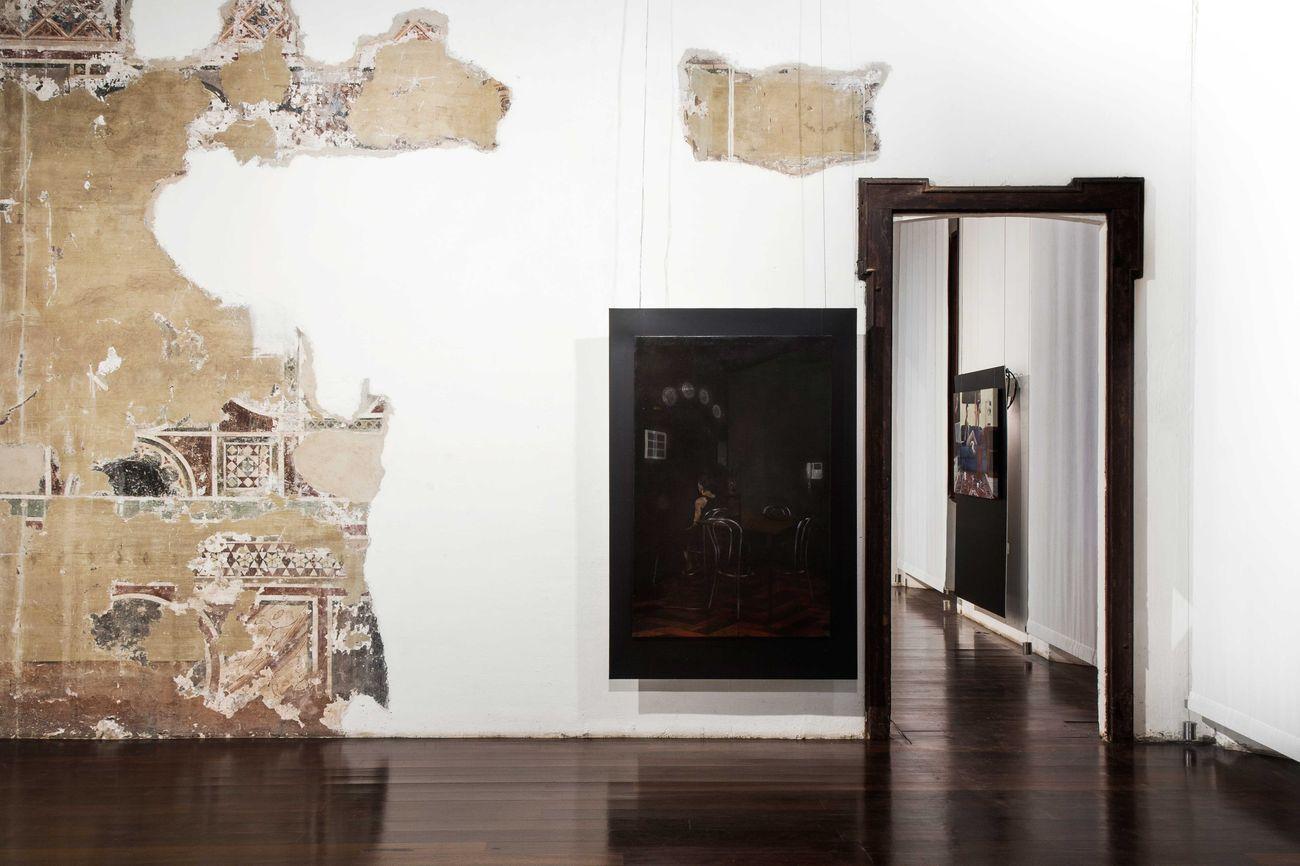 Dario Maglionico. Sincronie. Installation view at Castello di Legnano