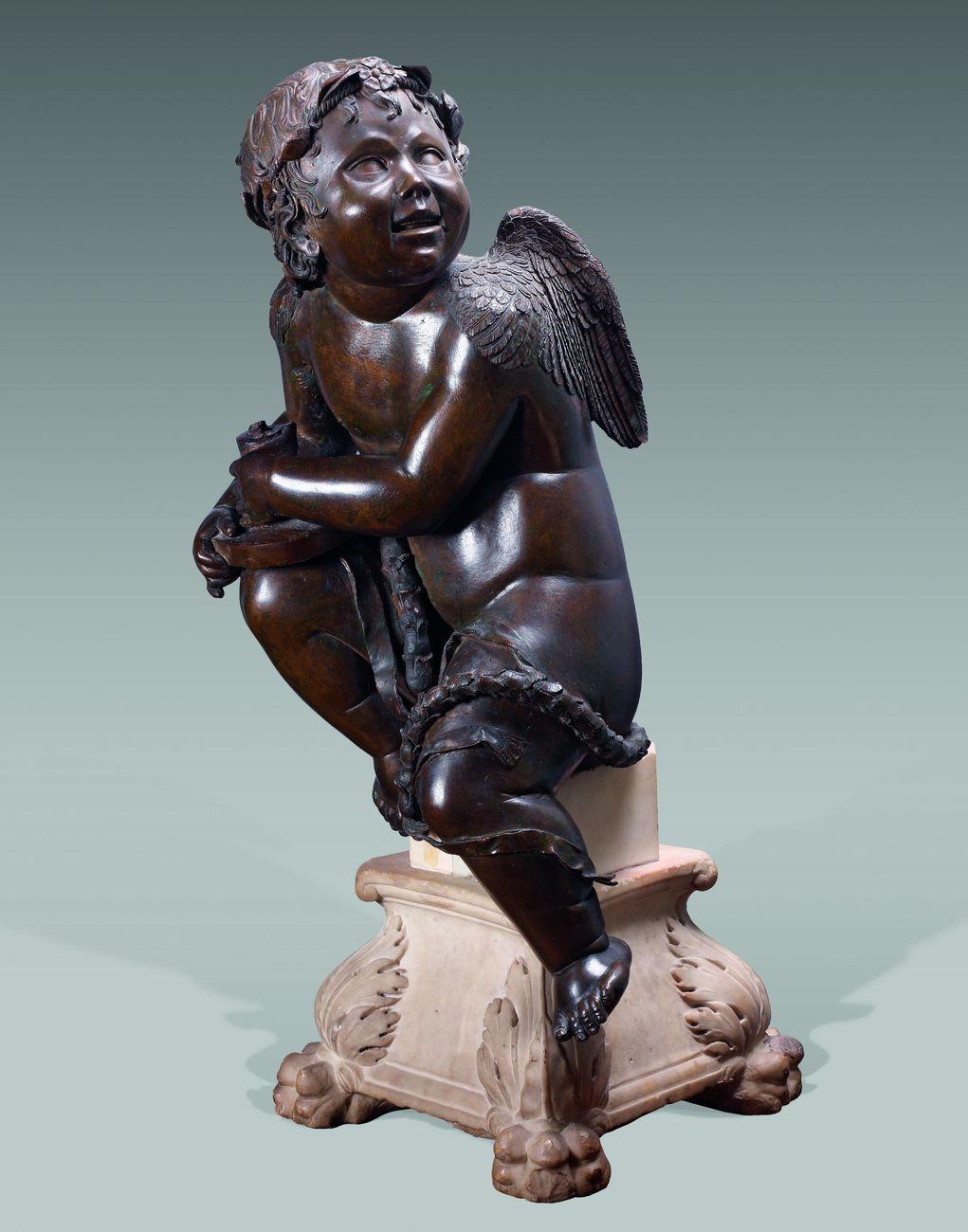 Donatello, Spiritello ceroforo, 1436 ca. Parigi, Musée Jacquemart André