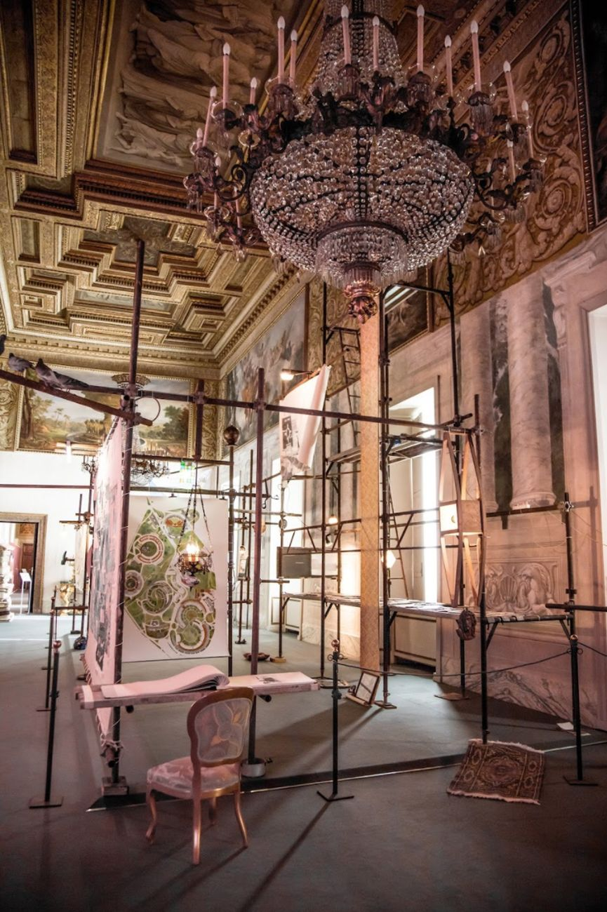 Eugenio Tibaldi, Seconda chance, 2017. Courtesy Galleria Umberto Di Marino, Napoli. Palazzo del Quirinale, Roma 2017