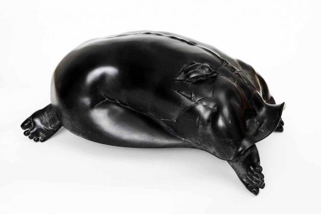 FINOTTI Novello donna tartaruga con scarabeo.