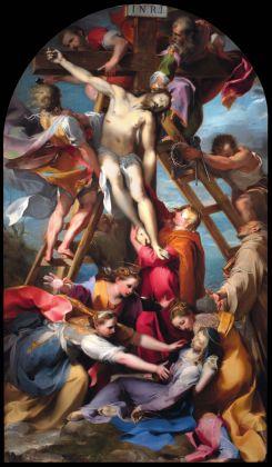 Federico Barocci, Deposizione dalla croce, 1567 69, olio su tela. Perugia, Cattedrale di San Lorenzo
