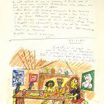 Federico Fellini, El libro de los sueños (volumen I), 1960 – 1968 © Comune di Rimini y Francesca Fabbri Fellini © Federico Fellini, VEGAP, Málaga, 2017