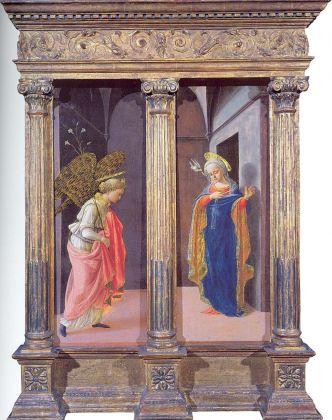 Filippo Lippi, Annunciazione, 1440 ca. New York, The Frick Collection