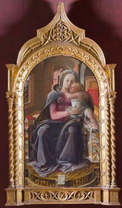 Filippo Lippi, Madonna di Tarquinia, 1437. Roma, Gallerie Nazionali di Arte Antica di Roma – Palazzo Barberini e Galleria Corsini