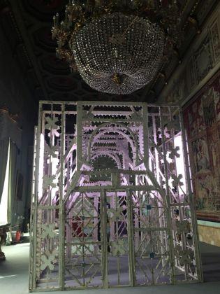 Flavio Favelli, Grande Galleria, 2012. Ex convento dei Francescani Neri, Specchia