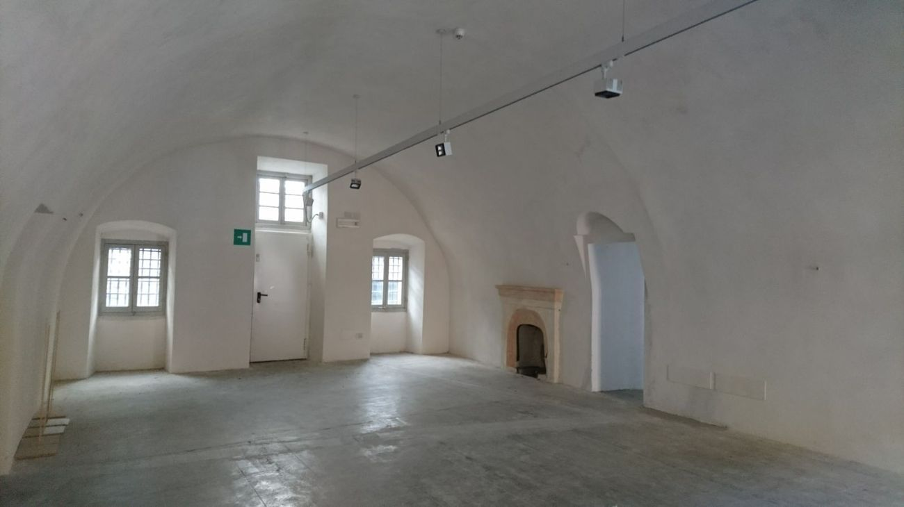 Forte di Gavi. Spazi espositivi interni