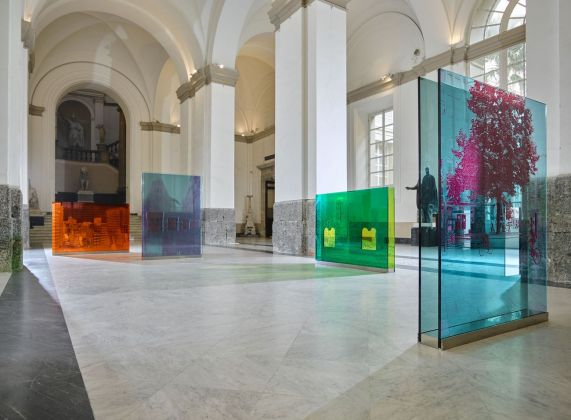 Francesco Candeloro, Città delle Città. Installation view at MANN – Museo Archeologico Nazionale, Napoli 2017. Photo Lorenzo Ceretta