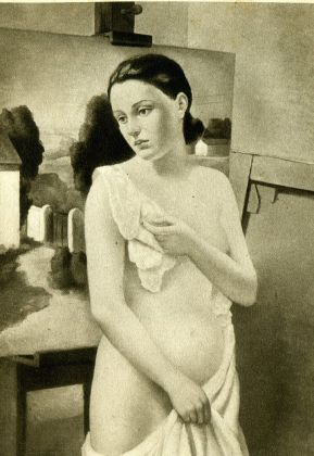Francesco Trombadori, Fanciulla nuda, 1934. Civica Galleria d'Arte Moderna Empedocle Restivo, Palermo