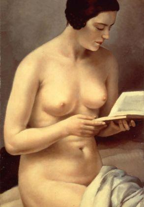 Francesco Trombadori, Fanciulla nuda che legge, 1929. Collezione privata, Foligno