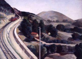 Francesco Trombadori, Paese (Cremagliera, Paesaggio d'Abruzzo), 1930-31. Galleria d'Arte Moderna di Roma