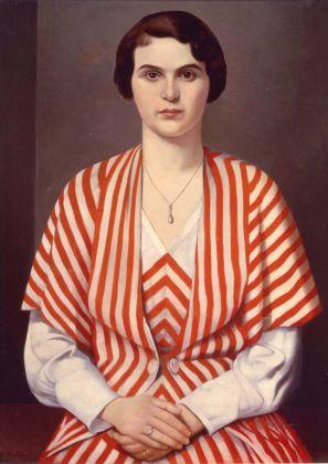 Francesco Trombadori, Ritratto in Rosso, 1930 ca.