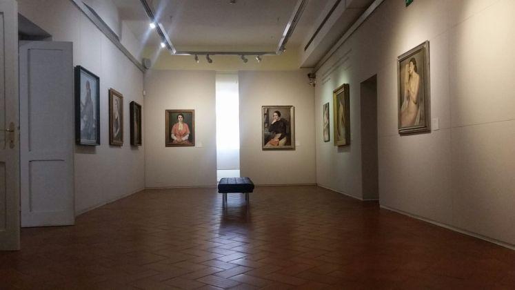 Francesco Trombadori. L'essenziale verità delle cose. Exhibition view at Galleria d'Arte Moderna di Roma, 2017