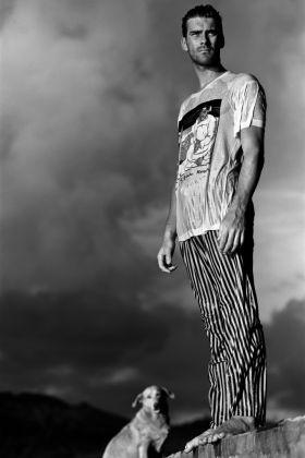 Gian Paolo Barbieri, ritratto di Evar Locatelli, dal libro Fiori della mia vita, 2016