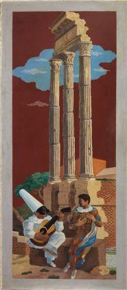 Gino Severini, La leçon de musique, 1928-29. Mart, collezione VAF Stiftung (Conflitto per codifica unicode)