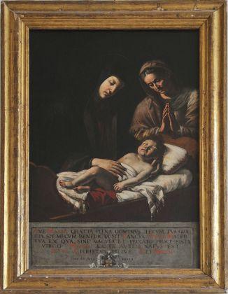 Giovanni Francesco Guerrieri, La Vergine con il Bambino e Sant'Anna. Fossombrone, Cattedrale