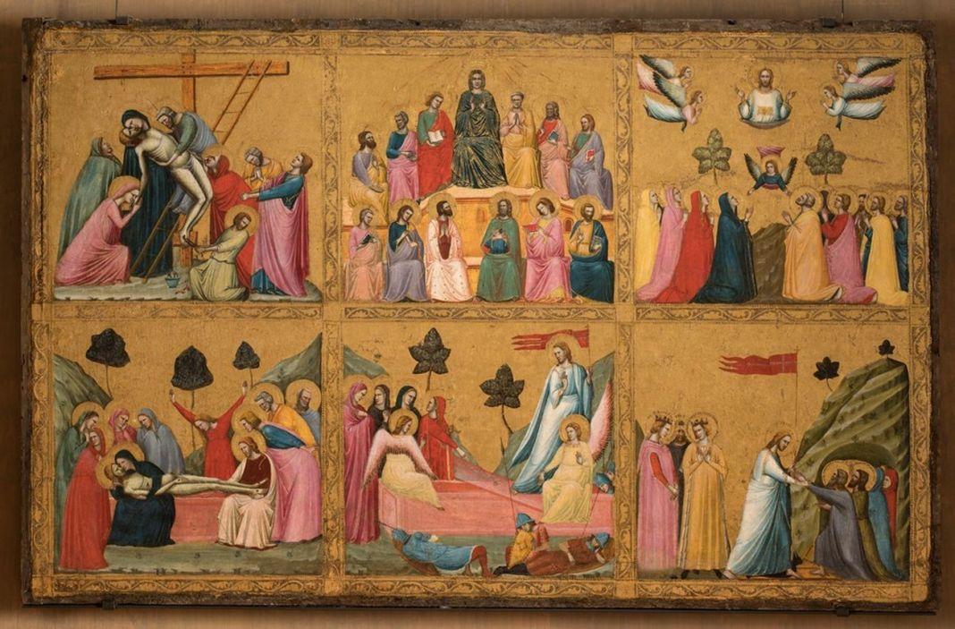 Giovanni da Rimini, Storie di Cristo, 1300-1305 ca. Roma, Barberini Corsini Gallerie Nazionali