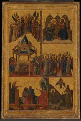Giovanni da Rimini, Storie di Santi, 1300 1305 ca. Londra, The National Gallery