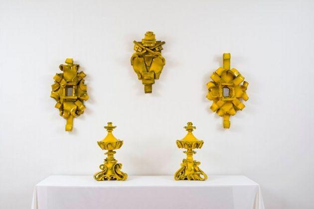 Giuseppe Ducrot. La stanza del Papa. Installation view at Studio Geddes, Roma 2017