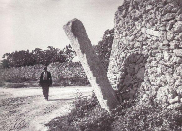 Giuseppe Palumbo, La pietafitta Aia che era sul quadrivio Lizzanello Calimera, 1913