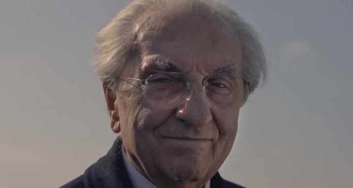 Gualtiero Marchesi, fermo immagine dal film Gualtiero Marchesi The Great Italian