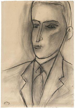 Henri Matisse, Testa d'uomo [Ritratto di Aragon]. Villa Necchi Campiglio, Milano 2017 (c) FAI - Fondo Ambiente Italiano