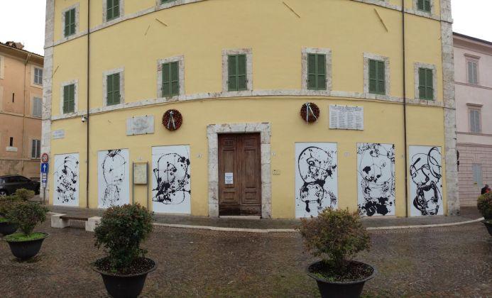 Schermi Urbani a Spoleto