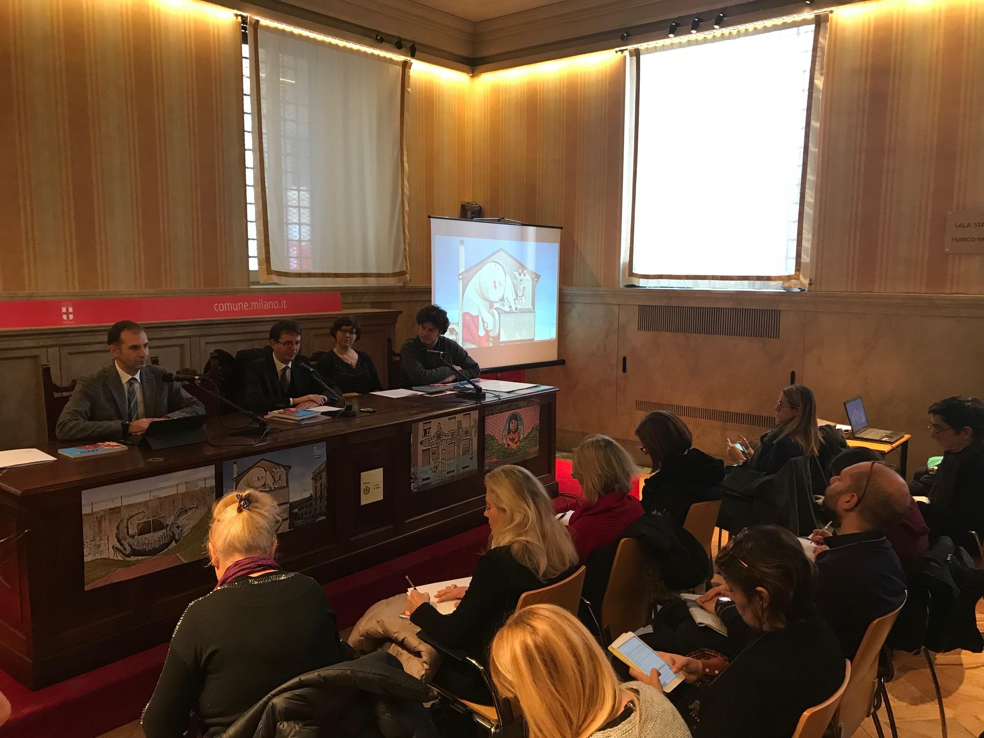 Conferenza di presentazione Milano Città Aumentata