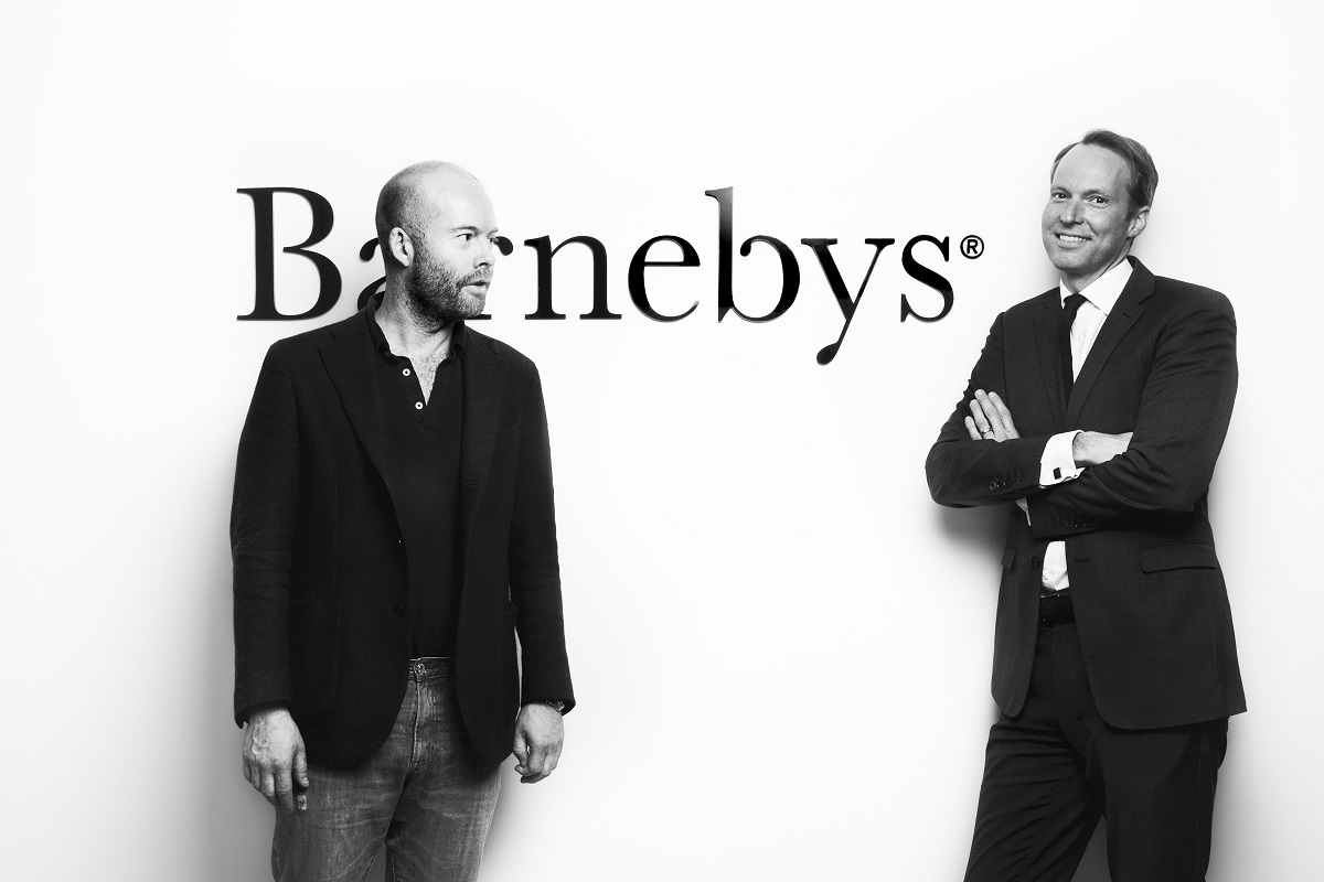 Il Co-fondatore e Head of Content di Barnebys Pontus Silfverstolpe e il CEO Christopher Barnekow