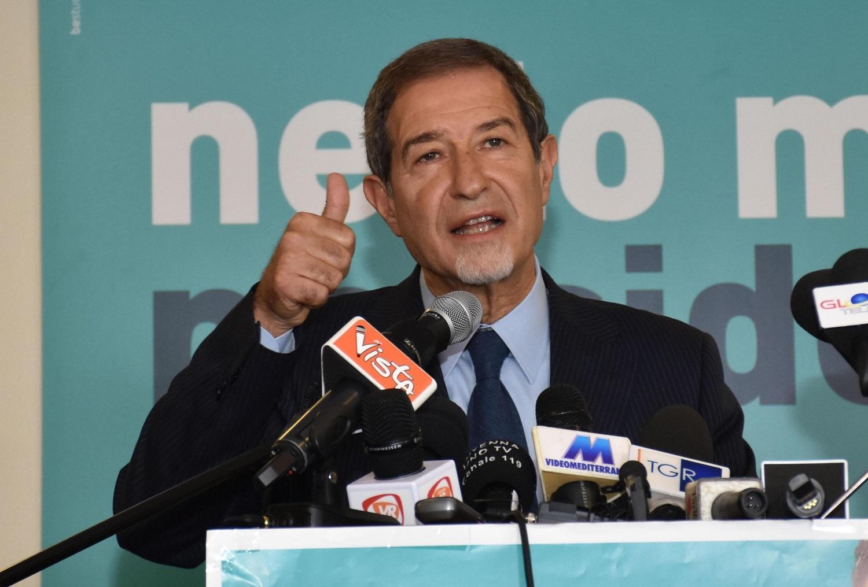 Il governatore della Regione Sicilia Nello Musumeci - foto Ansa