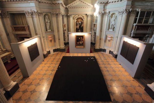 Il miglior posto. Exhibition view at Cappella della Villa Reale, Monza 2017