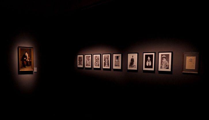 Il mondo fuggevole di Toulouse-Lautrec. Installation view at Palazzo Reale, Milano 2017. Photo credit Stefano Bonomelli