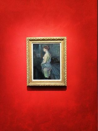Il mondo fuggevole di Toulouse Lautrec. Installation view at Palazzo Reale, Milano 2017. Photo credit Stefano Bonomelli
