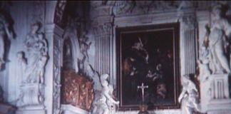 La Natività con i santi Lorenzo e Francesco di Caravaggio