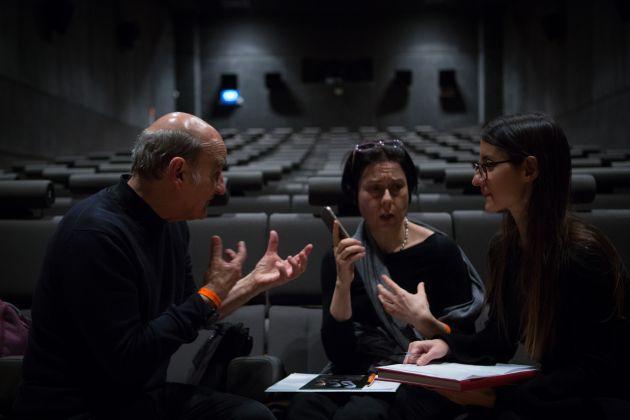 Intervista a Stelarc. Palazzo delle Esposizioni, Roma 2017. Photo Giovanni De Angelis