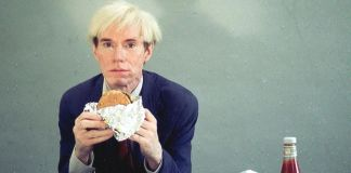 Jørgen Leth, Andy Warhol eating a Hamburger, 1982