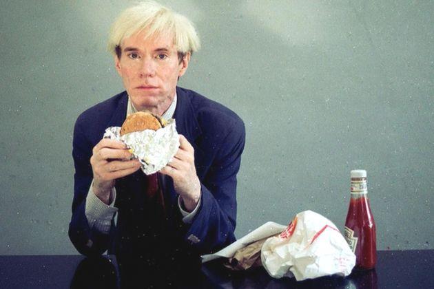 Jørgen Leth, Andy Warhol eating a Hamburger, 1982