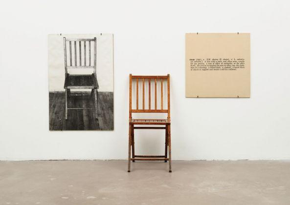 Joseph Kosuth, One and Three Chairs, 1965