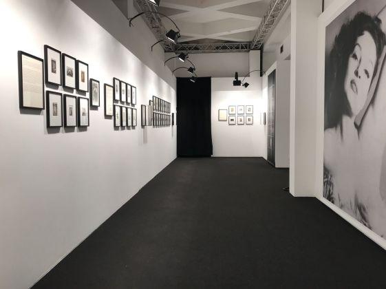 L'origine del mondo. Erotismo e seduzione nella photo trouvée. Exhibition view at La Triennale di Milano, 2017
