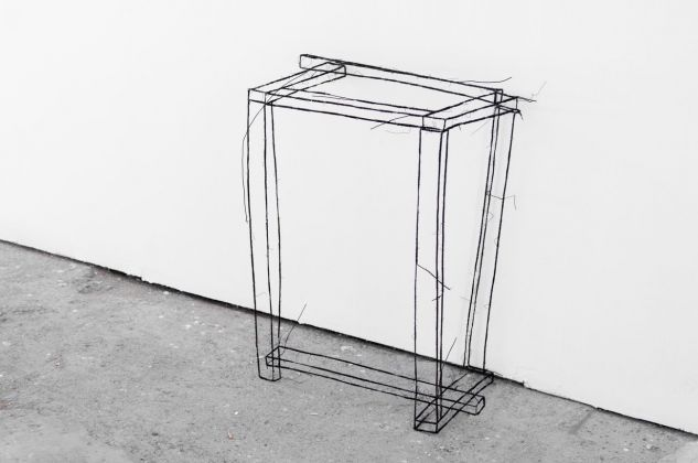 Les yeux qui louchent. Fritz Panzer. Installation view at Galleria Alberta Pane, Venezia 2017