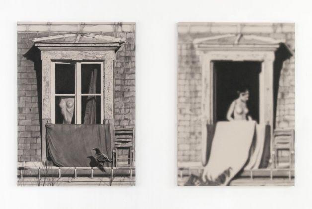 Les yeux qui louchent. João Vilhena. Installation view at Galleria Alberta Pane, Venezia 2017