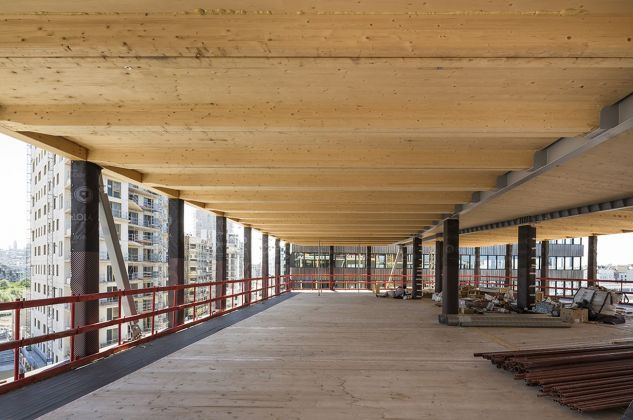 Lot 09, Uffici e negozi, Baumschlager Eberle + Scape. Photo di Sergio Grazia