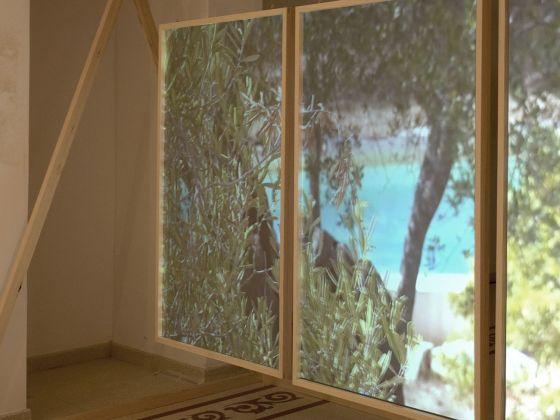 Luca Coclite. Hall. Installation view at Gagliano del Capo, 2017