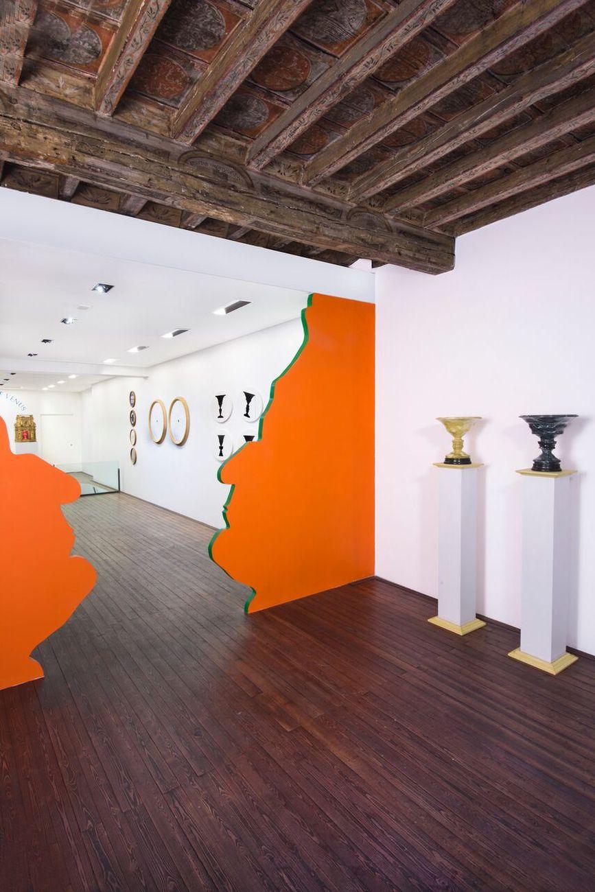 Luca Maria Patella. NON OSO / OSO NON essere. Exhibition view at Galleria Il Ponte, Firenze 2017